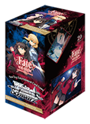 Fate/stay night [UBW: Unlimited Blade Works] (English) Weiss Schwarz Booster Box