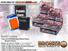 BFE X-BT04A Bundle (A) Bronze - Get x2 New World Chaos Booster Box + FREE Bonus Items