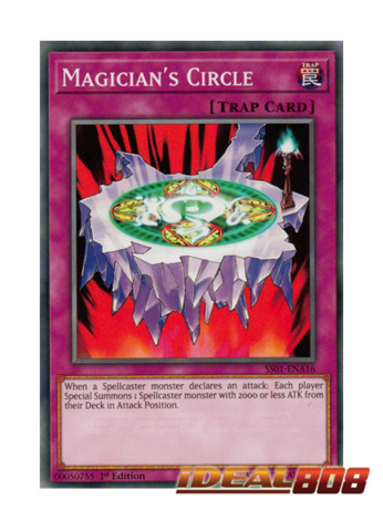 Magician's Circle - SS01-ENA16 - Common - 1st Edition