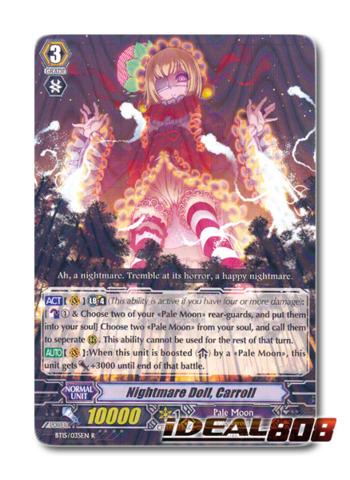 Nightmare Doll, Carroll - BT15/035EN - R