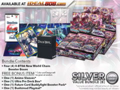 BFE X-BT04A Bundle (B) Silver - Get x4 New World Chaos Booster Box + FREE Bonus Items