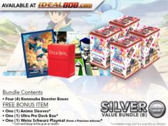 Weiss Schwarz KS Bundle (B) Silver - Get x4 Konosuba Booster Boxes + FREE Bonus
