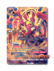 Commandant of Enma Alliance, Burn Nova [H-EB04/0063EN RRR (FOIL)] English