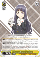 Tomoyo: Enamored Friend  [CCS/WX01-004 RR (Mosaic Gloss)] English