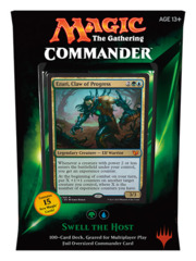 Commander 2015: Swell the Host (Green/Blue) feat. Ezuri, Claw of Progress