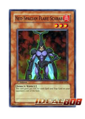 Neo-Spacian Flare Scarab - POTD-EN004 - Super Rare - Unlimited Edition