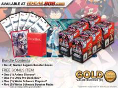 Weiss Schwarz GL Bundle (C) Gold - Get x6 GURREN LAGANN Booster Boxes + FREE Bonus * PRE-ORDER Ships Jul.5