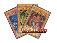 Yugioh Legendary Collection 2 LC02 Sacred Beast Raviel, Hamon & Uria 3-Card Ultra Rare Set
