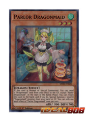 Parlor Dragonmaid - MYFI-EN020 - Super Rare - 1st Edition
