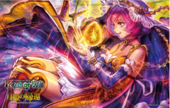 Force of Will TCG The Moon Priestess Returns Promo Playmat (Pandora)