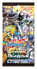 BFE-D-BT02A Four Dimensions (English) Future Card Buddyfight Alternate Booster Pack