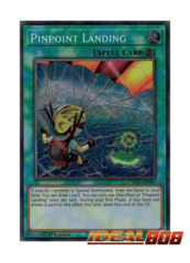Pinpoint Landing - CYHO-EN081 - Secret Rare - 1st Edition