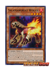 Salamangreat Wolvie - SAST-EN003 - Common - 1st Edition