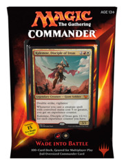 Commander 2015: Wade into Battle (Red/White) feat. Kalemne, Disciple of Iroas