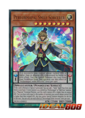 Performapal Smile Sorcerer - DUPO-EN012 - Ultra Rare - Unlimited Edition