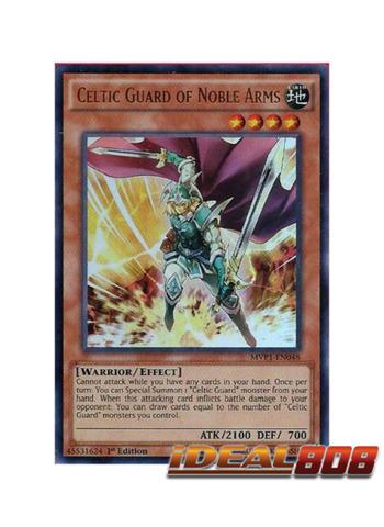 Celtic Guard of Noble Arms - MVP1-EN048 - Ultra Rare - 1st Edition