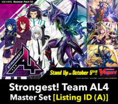 # Strongest! Team AL4 [V-BT02 Listing ID (A)] Master Set (Includes 4 of each Parallel and Base Cards)
