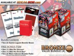 Weiss Schwarz GL Bundle (A) Bronze - Get x2 GURREN LAGANN Booster Boxes + FREE Bonus * PRE-ORDER Ships Jul.5