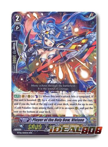 Player of the Holy Bow, Viviane - BT06/005EN - RRR