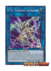 T.G. Trident Launcher - SAST-EN050 - Secret Rare - Unlimited Edition