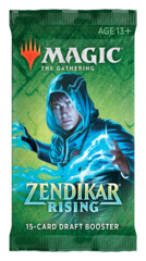 Zendikar Rising Draft Booster Pack [15 Cards]