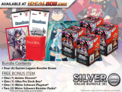 Weiss Schwarz GL Bundle (B) Silver - Get x4 GURREN LAGANN Booster Boxes + FREE Bonus * PRE-ORDER Ships Jul.5