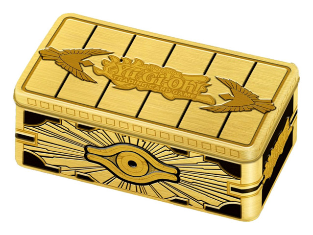 2019 Gold Sarcophagus Tin - Yugioh Products » Collectors