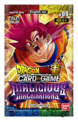 DBS-B08 ~MALICIOUS MACHINATIONS~ (English) Dragon Ball Super Booster Pack [12 Cards]