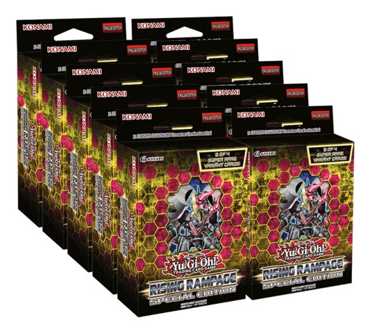 Rising Rampage Special Edition SE Box [10 SE Packs]