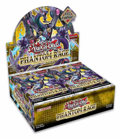 Phantom Rage (1st Edition) Yugioh Booster Box [24 Packs] * PRE-ORDER Ships Nov.06