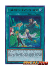 Harpie's Feather Rest - LED4-EN004 - Ultra Rare - 1st Edition
