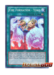Fire Formation - Yoko - JOTL-EN065 - Super Rare - 1st Edition