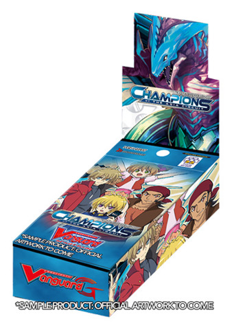 CFV-V-EB02 Champions of the Asia Circuit (English) Cardfight Vanguard V-Extra Booster Box * PRE-ORDER Ships Aug.31