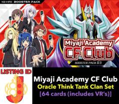 # Miyaji Academy CF Club [V-BT03 ID (J)]
