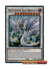 Ascension Sky Dragon - LEHD-ENB34 - Ultra Rare - 1st Edition
