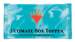Ultimate Masters (UMA) Booster Box Topper Pack ONLY