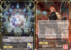 Melgis, Conqueror of Flame // Memoria of the Seven Lands [BFA-092 R (Foil Ruler)] English
