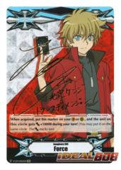 ▽ Imaginary Gift Marker [Force] (Kenji Mitsusada) - V-GM/0025EN - SCR (Gold Hot Stamp - Secret Rare) [V-EB02]