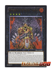 Brotherhood of the Fire Fist - Tiger King - CBLZ-EN048 - Ultimate Rare - Unlimited Edition
