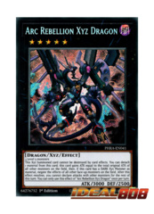Arc Rebellion Xyz Dragon - PHRA-EN041 - Secret Rare - 1st Edition