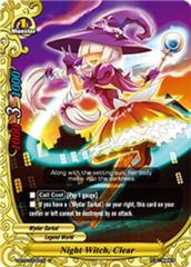 Night Witch, Clear - H-BT02/0065EN - U