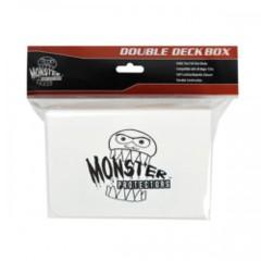 Monster Protectors Double Deck Box - White