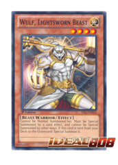 Wulf, Lightsworn Beast - SDLI-EN010 - Common - 1st Edition