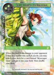 Jack, Climbing the Beanstalk [LEL-028 U (Foil)] English