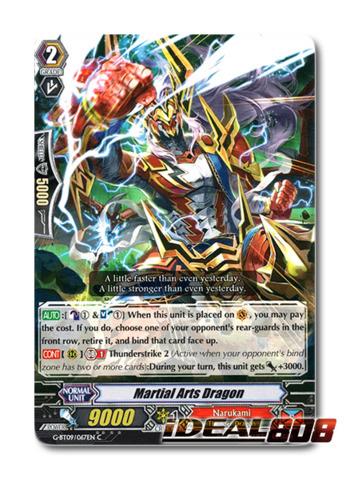 Martial Arts Dragon - G-BT09/067EN - C