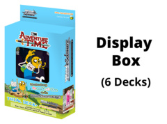 Adventure Time (English) Weiss Schwarz Trial  Deck+ Box [Contains 6 Decks] * PRE-ORDER Ships Nov.20