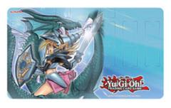 Yugioh Dark Magician Girl Dragon Knight - Konami Game Mat Playmat