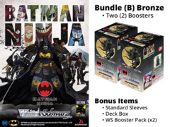Weiss Schwarz CCS Bundle (A) Bronze - Get x2 Batman Ninja Booster Boxes + FREE Bonus Items