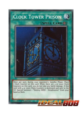 Clock Tower Prison Lehd Ena19 Common 1st Edition Yugioh Singles Special Releases Ygo Legendary Hero Decks Ideal808 Com