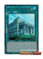 Palace of the Elemental Lords - FLOD-EN060 - Ultra Rare - Unlimited Edition
